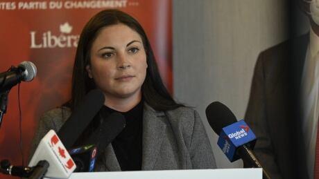 Jenica Atwin Liberal presser