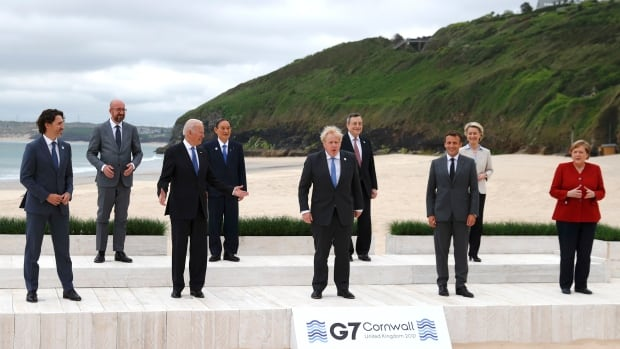 G7 leaders set to agree on plan to cut short future pandemics | CBC News