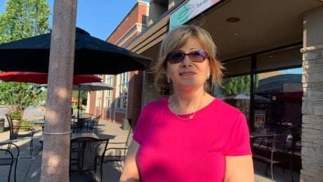 Toni, co-owner of Daniela's Cafe