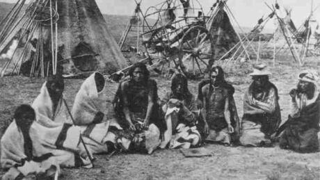 Assiniboine camp