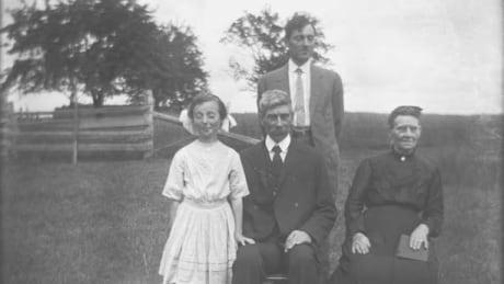 family photo on P.E.I. 1905-1920