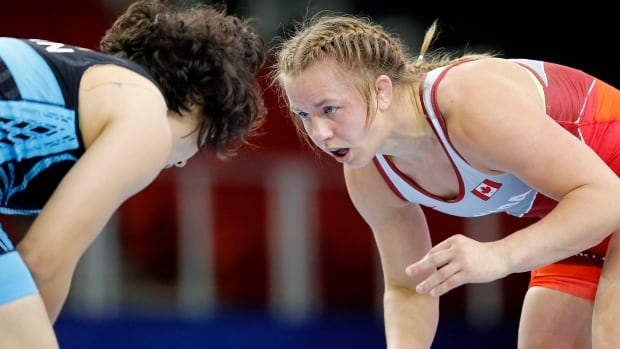 Olympic champ Erica Wiebe picks up bronze at Poland Open ranking series | CBC Sports