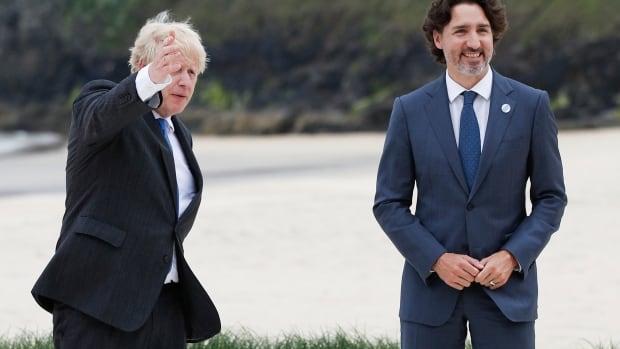 Trudeau offers Johnson help with U.K.'s post-Brexit Irish border problem