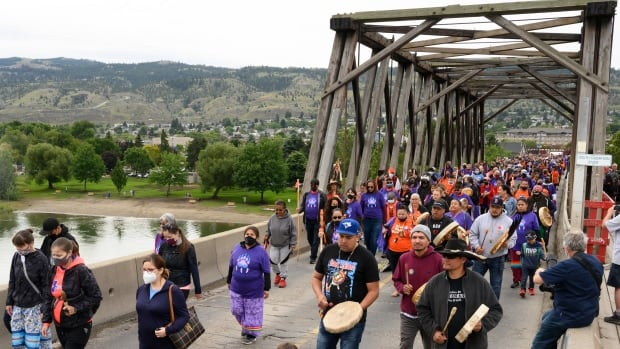 B.C. First Nation organizes 3-day healing walk in wake of Kamloops residential school discovery