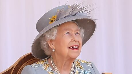 Queen Elizabeth watches events marking her official birthday on June 12, 2021