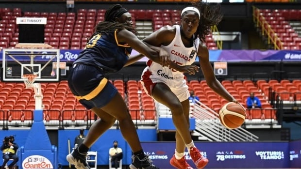 Canadian women's basketball team dominates U.S. Virgin Islands in AmeriCup opener | CBC Sports