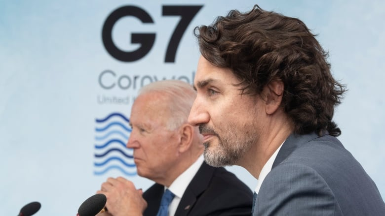 Trudeau says he discussed border with Biden, but no deal