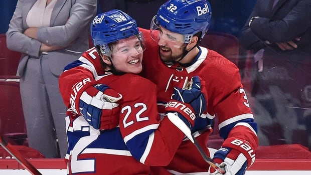 Canadiens' Cole Caufield, college stars add 'young energy' to NHL playoffs