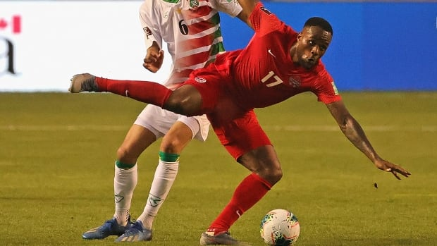 Larin scores lone goal as Canada shuts out Haiti in World Cup qualifiers