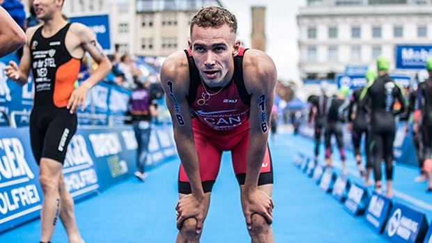 Canada's Tyler Mislawchuk gears up for Olympics with World Triathlon Cup victory
