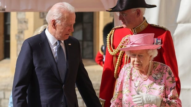 'She reminded me of my mother,' U.S. president says after meeting Queen