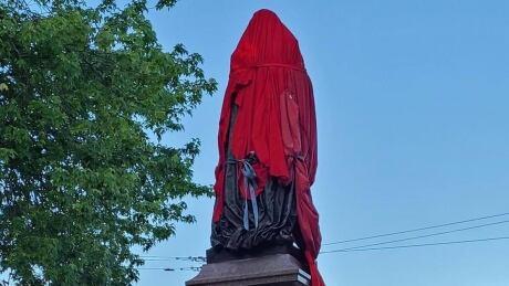 Sir John A MacDonald statue Kingston