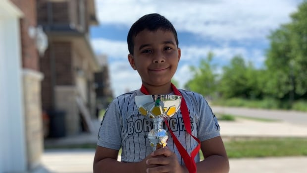 2nd grade Windsor student places fourth in national mental math contest   CBC News