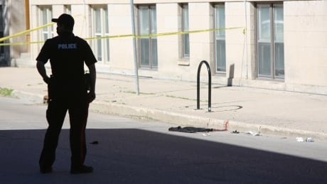 Shooting on Young street,West End Winnipeg