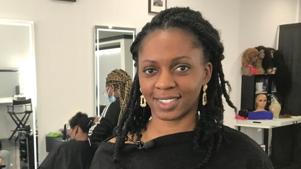Hair salon owner accuses Montreal police of racial profiling, after officers suspect her of selling liquor | CBC News