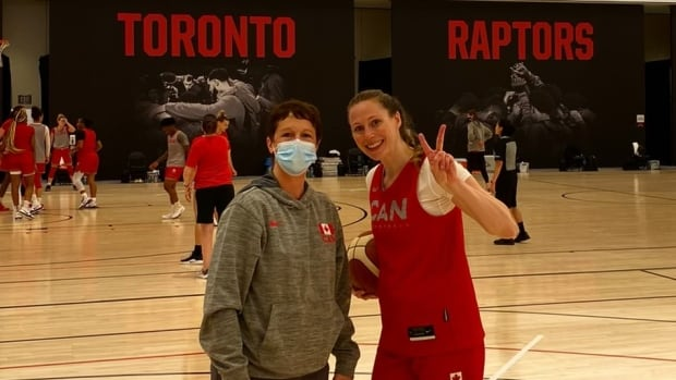 'You just adapt': Sask. physiotherapist keeping Canadian women's Olympic basketball squad healthy