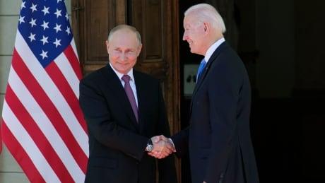 APTOPIX Switzerland Biden Putin