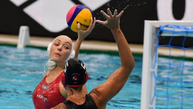 Canadian women drop semis to Hungary at water polo World League Super Final   CBC Sports