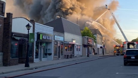 Forest, Ont. Fire
