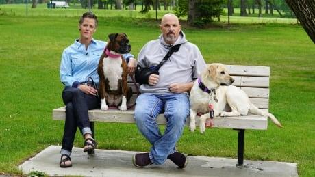 Jennifer Hacker and Joshua Bennett, Alberta couple raided by police