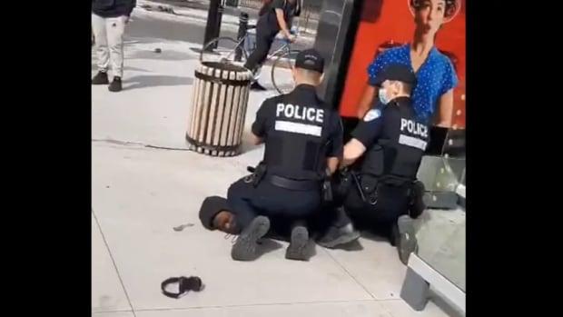 Montreal police filmed kneeling on Black teen's neck, prompting calls for investigation | CBC News
