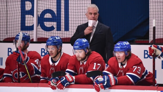 Habs coach sent home, isolating following irregularities in COVID-19 testing   CBC Sports