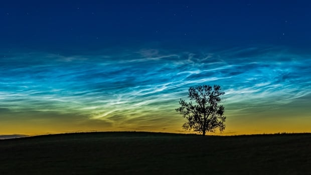 Keep an eye out for rare electric-blue noctilucent clouds in the northern sky
