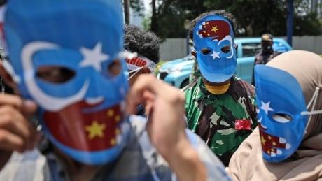 Indonesia Uyghur Protest
