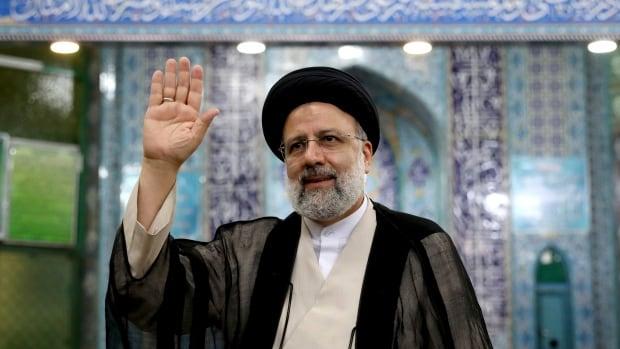 Hardline judiciary head Ebrahim Raisi wins Iran presidency following low turnout   CBC News