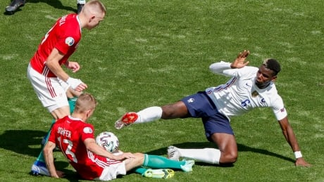 France avoids upset but held to draw by Hungary at Euro 2020