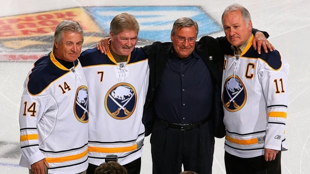René Robert of Sabres' renowned 'French Connection' hospitalized after heart attack