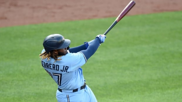 Guerrero Jr.'s go-ahead double helps Jays rally past Orioles to end 5-game skid