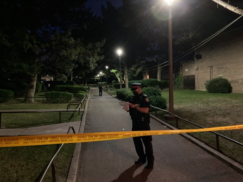 Gunfire broke out at a one-year-old's birthday party in Toronto