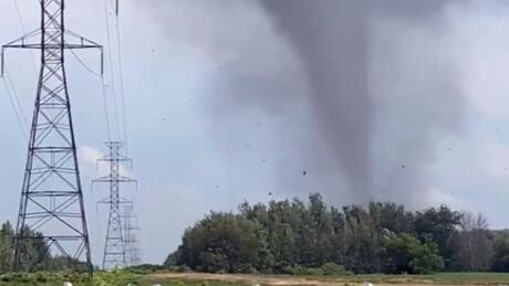tornado quebec