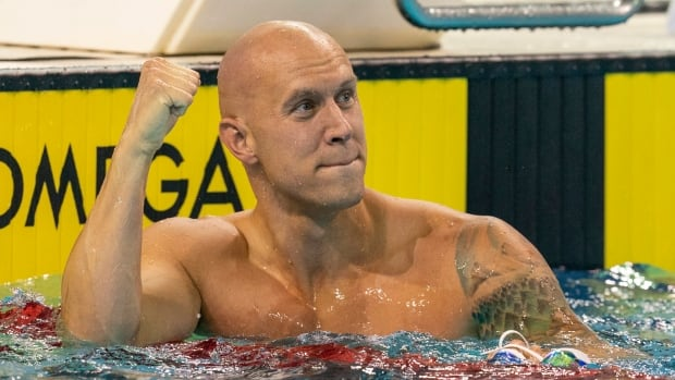 Canadian swimmers are not acting their age — in the best possible way