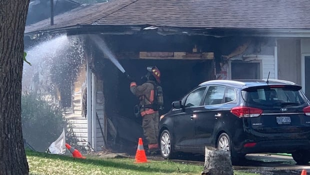 2 people taken to hospital as fire at Mountain home causes 'extensive damage'