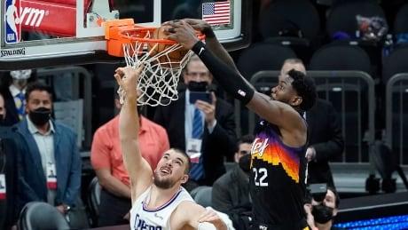 APTOPIX Clippers Suns Basketball