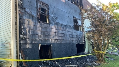 Norwood Road apartment fire