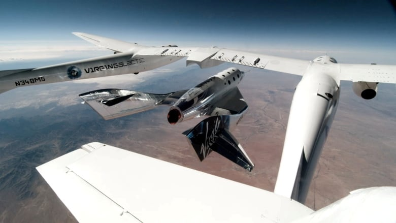 Virgin Galactic gets OK for passenger flights to space — and Richard  Branson will be on one | CBC News