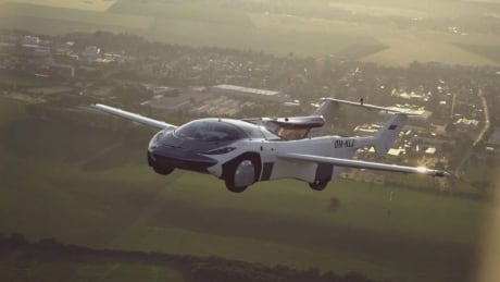 Prototype flying car completes first intercity flight