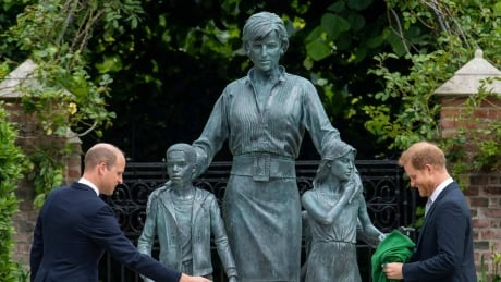 Princess Diana statue unveiled by her sons on her 60th birthday