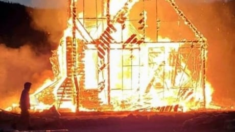 Tensions flare over Anglican church burned down on Gitwangak First Nation
