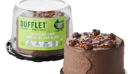 Dufflet plant based cake
