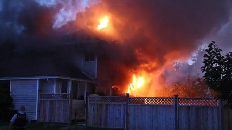 surrey fire fatal