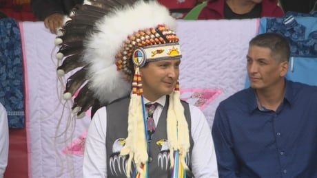 Cowessess First Nation Chief Cadmus Delorme