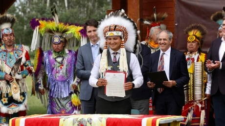 Cowessess First Nation ceremony