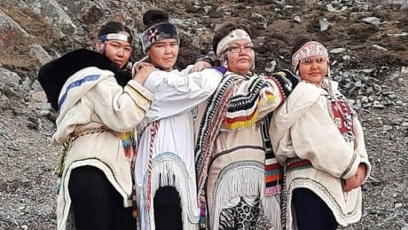 Traditional clothing in Nunavut