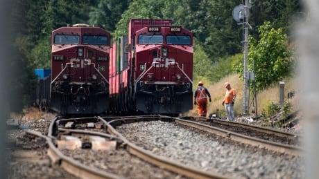 CP Rail Lytton