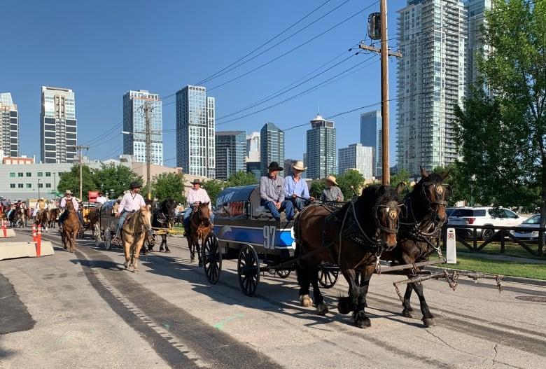 stampede parade 2021
