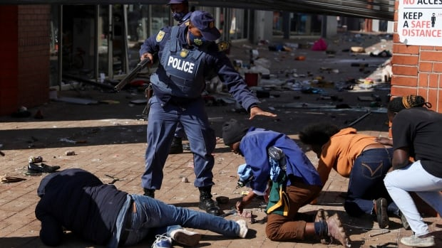 South Africa to deploy army to quell violence as ex-leader Jacob Zuma faces court
